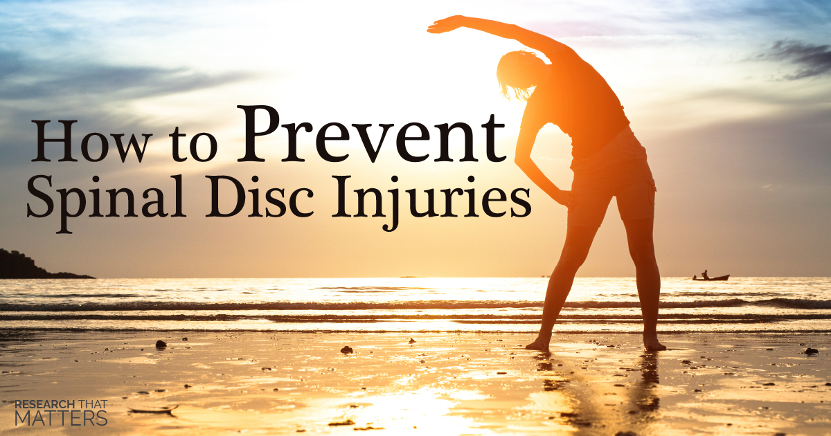 How to Prevent Spinal Disc Injuries