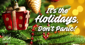 its the holidays don't panic