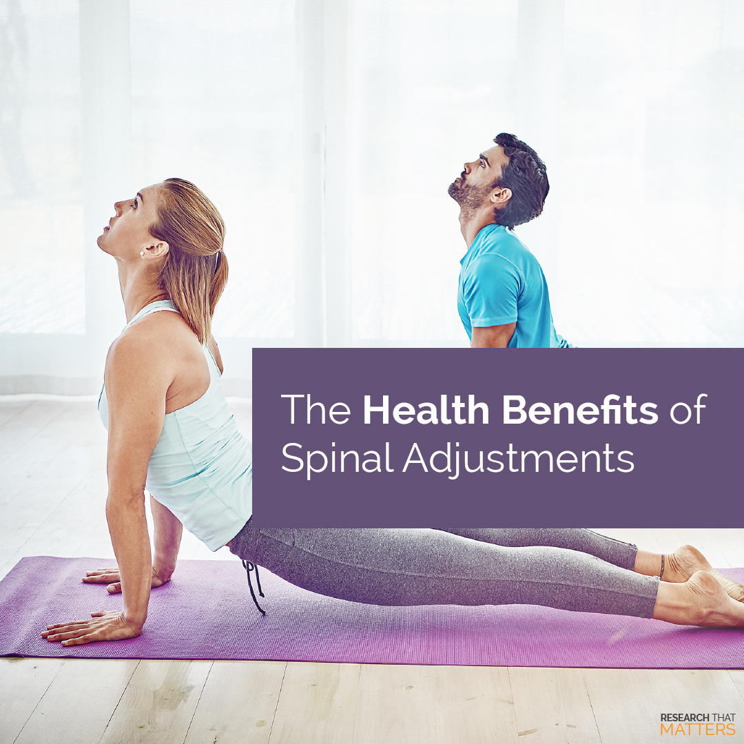 The Health Benefits of a Spinal Adjustment